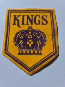 Vintage Los Angeles Kings NHL Hockey Team Patch  new old stock