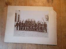 Großes Gruppenfoto - Militär Uniform Säbel Kaiserzeit MIlitaria