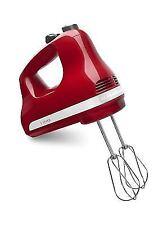 Kitchenaid Khm512Er Ultra Power 5Speed Hand Mixer Empire Red for kitchen handhel