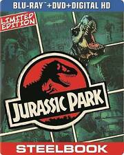 Jurassic Park (Blu-ray/DVD, 2014, 2-Disc Set, Includes Digital Copy UltraViolet