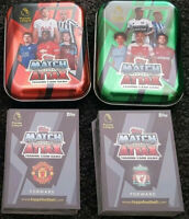 2019 Match Attax Soccer Cards Premier League - 100 Cards + 2 tins EPL