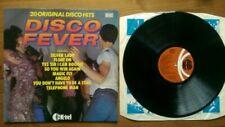DISCO FEVER - 20 ORIGINAL DISCO HITS  EX+/EX+ VINYL LP / Baccara / RAH band etc