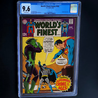 WORLD'S FINEST COMICS #183 (DC 1969) 💥 CGC 9.6 💥 UN Cover by Neal Adams!