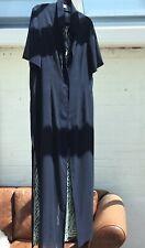 Vestido largo sin mangas CAVITA y Longitud Completa De Chaqueta, tamaño 14 Azul