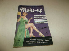 "Vtg 1953 Joe Bonomo Make Up & Live ""the Hollywood Way"" Book Illustrated Booklet"