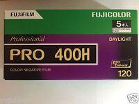 5 Rolls FUJIFILM FUJI PRO 400H Professional Color Negative Film (120 Roll Film)