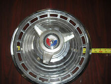 """1960's FORD MUSTANG,FALCON,FAIRLANE,GALAXIE 14"""" SPINNER HUBCAP ACCESSORY"""
