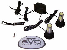 EVO Formance LED Cop Strobe Lights Kit, Ultra White, 2-Pack for Car-Truck