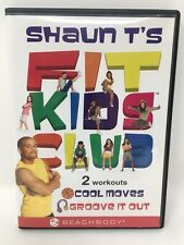 New Open Package Shaun T's Fit Kids Club DVD 2 Workouts Cool Moves Groove It Out