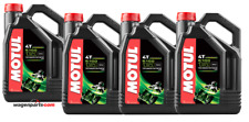 Lubricante Aceite Moto 4 tiempos Semi Syn MOTUL 5100 4T 10W50, Pack 16 litros