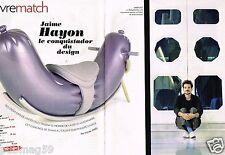 Coupure de Presse Clipping 2010 (4 pages) Jaime Hayon