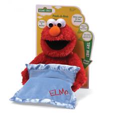NEW Gund Sesame Street Peek A Boo Elmo Animated Sound & Motion Plush Soft Toy!
