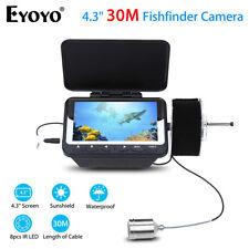 "Eyoyo 30M 4.3"" Inch LCD Screen Fishing Camera Fish Finder Night Vision LED Light"