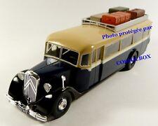 Bus CITROEN model type 45 iron coach 1934 autobus vintage car passenger vehicle