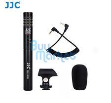 JJC SGM-185II DSLR/Video Mini Shotgun Microphone for 3.5mm input jack Camcorder
