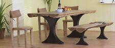 Esszimmertisch 200x95cm Esstisch Holztisch Küchentisch Tisch Akazie Natur Massiv