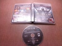 Sony PlayStation 3 PS3 Disc  No Manual Diablo III Reaper of Souls Ultimate Evil