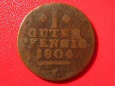 Germany - Schaumburg-Hessen - 1 guter pfennig 1804