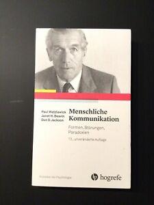 Menschliche Kommunikation von Paul Watzlawick (Taschenbuch)