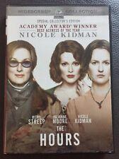The Hours (DVD, 2003, Widescreen) Meryl Streep! Julianne Moore! Nicole Kidman!