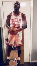 Michael Jordan Upper Deck NBA Life Size Cardboard Cutout Display!