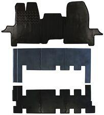 Gummifußmatten für Ford Tourneo Custom 2012- 3 Reihen 9tlg
