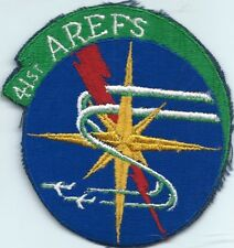 41 AIR REFUELING SQUADRON KC-135 TANKER  AIR FORCE SQUADRON PATCH