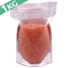 1kg Silica Gel Desiccant Moisture Absorber Beads - Indicating (ORANGE) Reusable