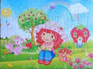 New 40 Pieces Jigsaw Puzzles Moranguinho Strawberry Drawing Best Gift for Kids B