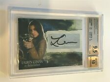 2008 Inkworks Supernatural Signed Lauren Cohan Autograph 10 Bgs 9.5 Walking Dead