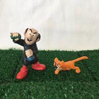 Smurfs Gargamel & Azrael Cat Vintage Smurf 40211 Figures Toy