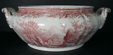 VILLEROY & BOCH china BURGENLAND MAROON pattern BASE to the Small Tureen