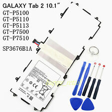 """New Battery For Samsung Galaxy Tab 2 10.1"""" GT-P5100 P5110 P5113TS P7500 GT-P7510"""