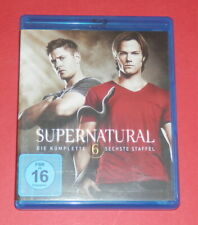 Supernatural - Die komplette sechste Staffel -- 4er-Blu-ray