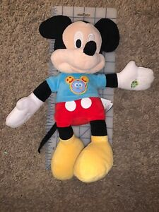 Singing Talking Mickey Mouse Clubhouse Fun Hot Dog Song Phrases Plush Toy Gift