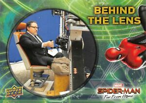 Spider-Man Far From Home Movie BEHIND THE LENS Trading Card Insert BTL-8
