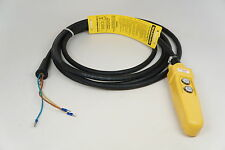 Pendant Control Station for CM chain hoist 21' cord New