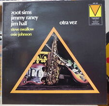 ZOOT SIMS/JIMMY RANEY/JIM HALL OTRA VEZ PROMO FRENCH LP MAINSTREAM RECORDS 1972
