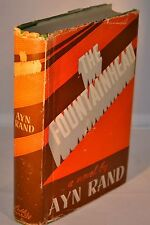 Ayn Rand - The Fountainhead - Early Edition in Original Jacket