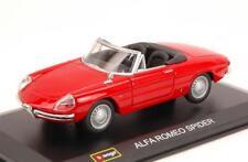 Alfa Romeo Duetto Spider 1600 1966 Red BURAGO 1:32 BU43211R