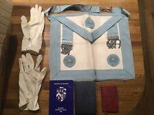 freemason Apron And Books