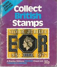 Collect British stamps silver jubilee edition 20th twentieth PB vintage 1977