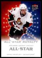 2008-09 Ultra All-Star Royalty  Dany Heatley #ASR9