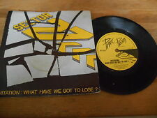 """7"""" POP SECTOR 27-Invitation/Dungannon (2) canzone Panic Rec Tom Robinson Band"""
