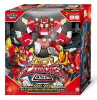 Dino Core 4 EVOLUTION Mega D-Fighter TYRANNO Dinosaur Transformer Robot Kids Toy