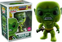 Exclusive Flocked MOSS MAN Masters of the Universe FUNKO POP VINYL New in Box