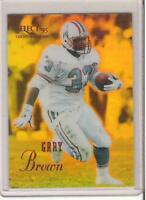 1995 SELECT CERTIFIED GARY BROWN MIRROR GOLD