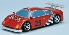 """10"""" Race Car With Track & Santa Inside Adaptor Battery Operated Christmas Song"""