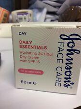 Johnson's Daily Essentials  HYDRATING DAY Cream 50ml SPF15 normal skin