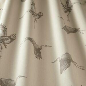 Cranes Pearl - By iliv - 100% Cotton Fabric - 4.6 Metre Piece